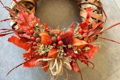 Věnečky s podzimní tématikou